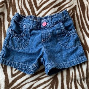 Jumping beans size 5 girls jean shorts